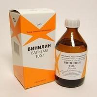 Винилин (Шостаковского бальзам) жидкость для наружного применения , 100 г