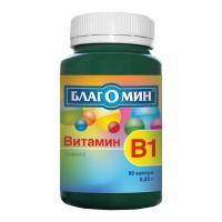 Благомин витамин в1 капсулы 250 мг, 90 шт.