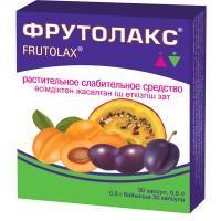 Фрутолакс капсулы 500 мг, 30 шт.