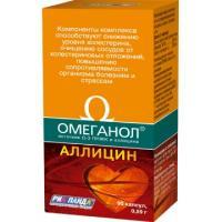 Омеганол аллицин капс.№90 (бад)