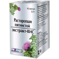 Расторопши пятнистой экстракт-вис капс. 0,4г №40 (бад)