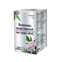 Валерианы лекарственной экстракт-вис капс. 0,4г №40 (бад)