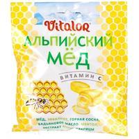 Виталор леденцовая карамель с витамином С со вкусом Альпийского меда 60 г