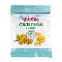 Виталор леденцовая карамель с витамином С со вкусом Облепихи с медом 60 г