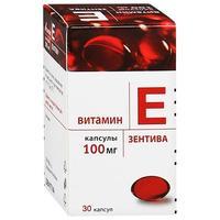 Витамин е зентива капсулы 100 мг, 30 шт.