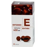Витамин Е Зентива капсулы 400 мг 30 шт.