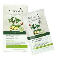 Vitex Аптекарь Маска для волос ежедневный уход Авокадо и крапива 10 мл саше 10 шт.