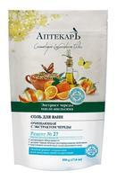 Vitex Аптекарь Соль для ванн очищающая масло Апельсина и экстракт Череды 500 г