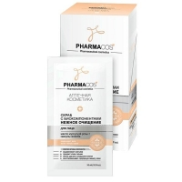 Vitex PHARMACos Скраб для лица с биокомпонентами Нежное очищение 10 мл саше 10 шт