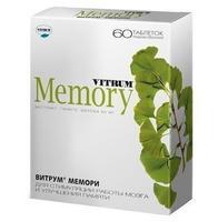 Витрум мемори таблетки, 60 шт.
