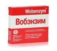 Вобэнзим таблетки покрыт.киш-раств.об 40 шт.
