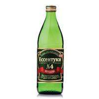 Вода Ессентуки ОВК № 4 минеральная 0,5л стекл. бутылка