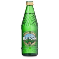 Вода Нарзан минеральная 0,33л стекл. бутылка