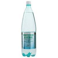 Вода Новотерская минеральная газированная 1,5 л ПЭТ 1шт.