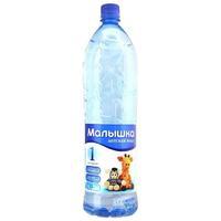 Вода питьевая Малышка пластик. бутылка 1,5 л упак.