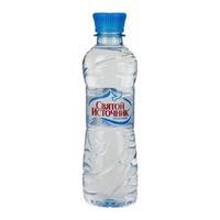 Вода Святой источник питьевая негазированная 0,33 л ПЭТ