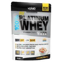 Vplab 100% Platinum Whey Протеин карамельный фраппе 750 г