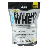 Vplab 100% Platinum Whey Протеин ваниль 750 г