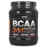 Vplab BCAA 2:1:1 Аминокислоты красный апельсин 500 г