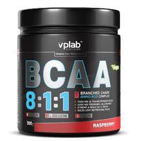 Vplab BCAA 8:1:1 Аминокислоты малина 300 г