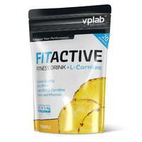 Vplab FitActive L-Carnitine Fitness Drink Витаминно-минеральный напиток сухой концентрат ананас 500 г