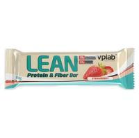 Vplab Lean Protein & Fiber Bar Батончик протеиновыйr клубника 60 г