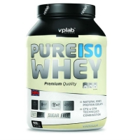 Vplab Pure Iso Whey Протеин ваниль 908 г