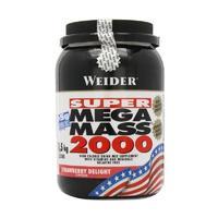 Weider Mega Mass 2000 Гейнер клубника 1,5 кг