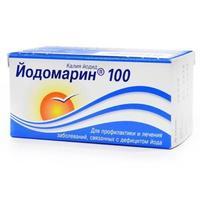 Йодомарин 100 таблетки 0.1 мг, 100 шт.
