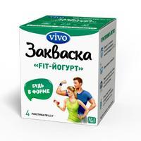Закваска Vivo FIT-Йогурт 0,5 г 4 шт.
