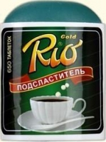 Заменитель сахара Рио Голд таблетки, 650 шт.