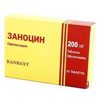 Заноцин таблетки 200 мг, 10 шт.