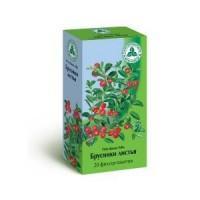 Брусники листья сырье-пор. фильтр-пак. 1,5г №20