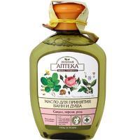 Зеленая Аптека Масло для ванны и душа, сандал, нероли, роза, 250 мл