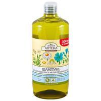 Зеленая Аптека Шампунь Ромашка и льняное Масло для окрашенных и мелированных волос 1000мл