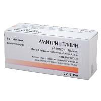 Амитриптилин-словакофарма таблетки 25 мг, 50 шт.