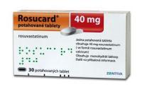 Розукард таблетки 40 мг, 30 шт.