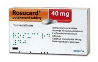 Розукард таблетки 40 мг, 90 шт.