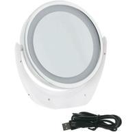Зеркало TOUCHBeauty косметическое двустороннее с LED подсветкой AS-1276 1 шт