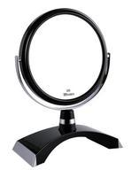 Зеркало Weisen настольное 2-стороннее 5-кратное увеличение 15 см B6 300 BLK/C Black 1 шт