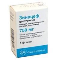 Зинацеф флакон, 750 мг
