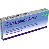 Золадекс капсула для п/к.вв.пролонг 10.8мг шприц-аппликатор