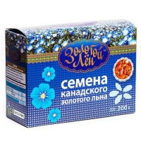 Золотой Лен Семена золотого льна картонная коробка 200 г