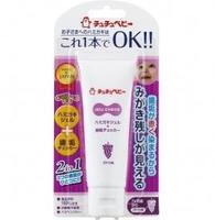 Зубная паста JEX детская с контролем выполаскивания со вкусом винограда 50 г 1 шт.