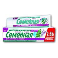 Зубная паста Семейная крапива-шалфей 130 г