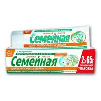 Зубная паста Семейная ромашка-тысячелистник 130 г