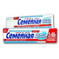 Зубная паста Семейная Свежее дыхание 130 г