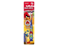 Зубная щетка Longa Vita Angry Birds с защитным колпачком арт. AB-1 1 шт.
