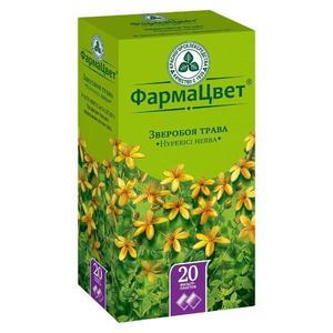 Зверобоя трава фильтрпакетики, 1,5 г, 20 шт.